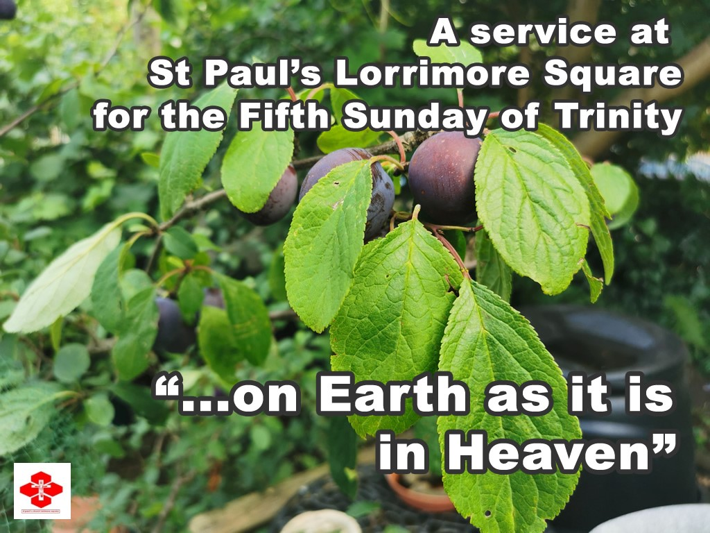 Fifth Sunday after Trinity - On Earth as it is in Heaven