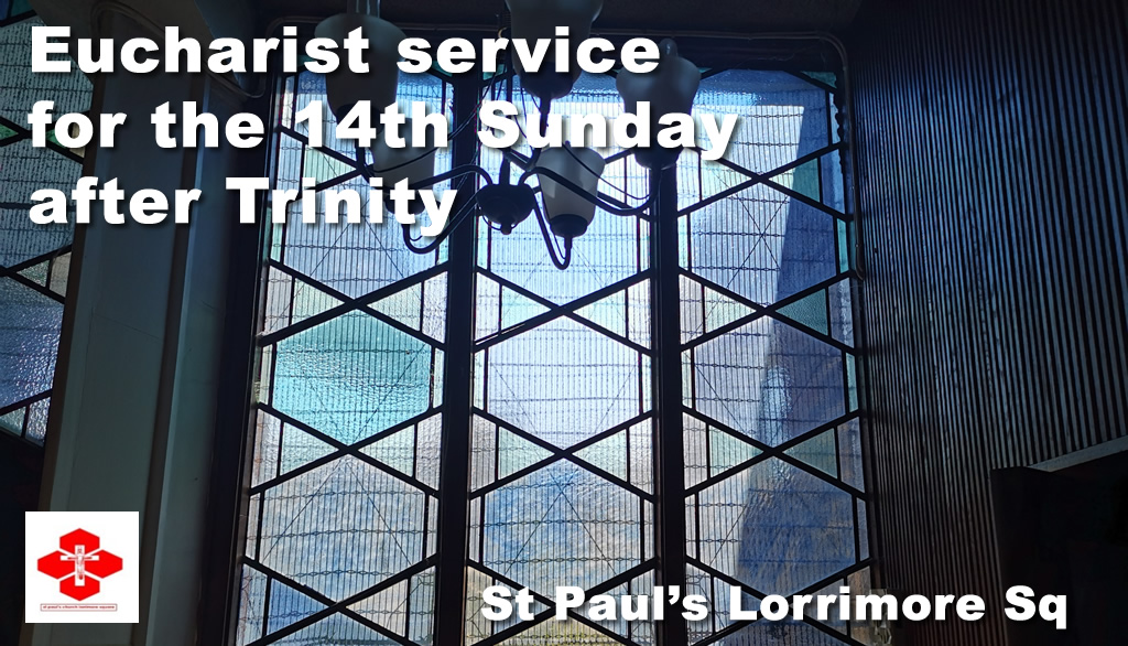 Service for 14th Sunday after Trinity