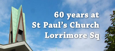 60th Birthday St Paul's Lorrimore Sq