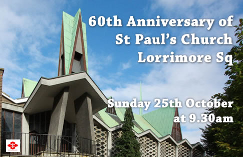 60th Anniversary St Paul's