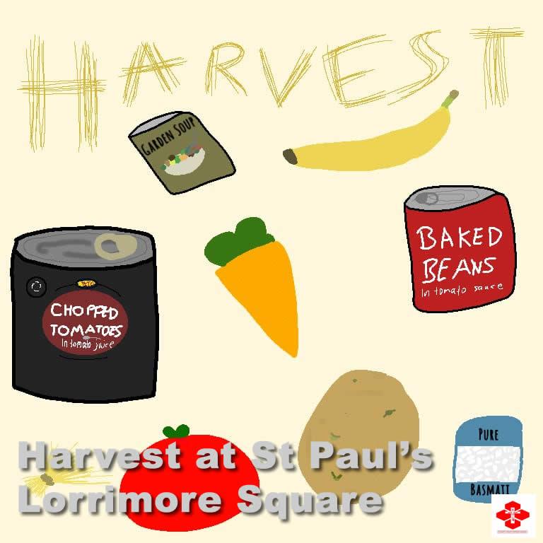 Harvest at St Paul's