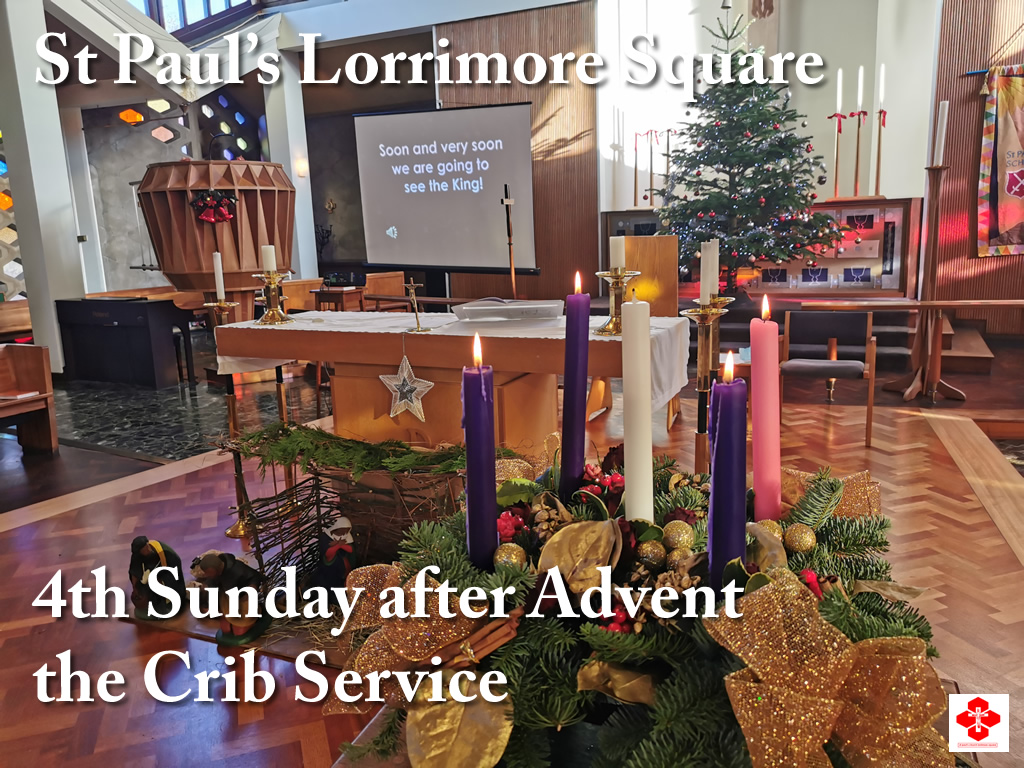 4th Sunday after Advent - Crib Service