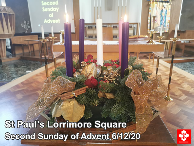 Second Sunday after Advent at St Paul's Lorrimore Sq