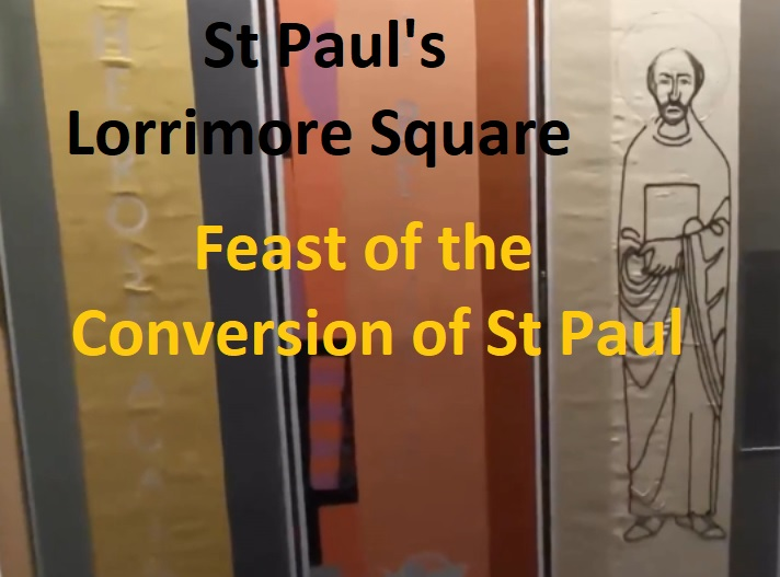 Feast of the Conversion of St Paul